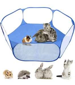 Parque plegable y portátil para mascotas pequeñas