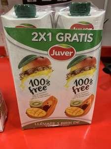 2 Zumos Juver 100% Free, Piña o Frutas - Family cash parque alban burjassot (valencia)
