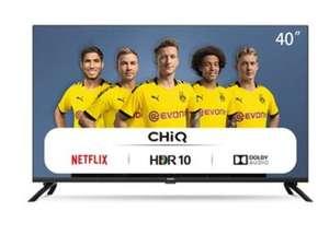 "Smart TV CHiQ LED 40"", FHD, HDR 10/HLG, WiFi, Bluetooth también en 42"