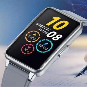 Smartwatch unisex plata u oro IP67 responde llamadas bluetooth ritmo cardíaco calorías etc