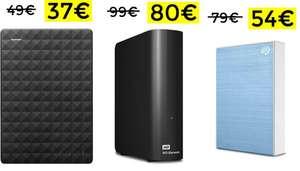 Preciazos en selección de discos duros en Media Markt