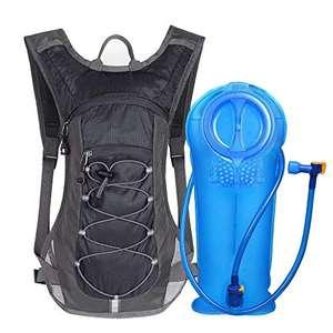 Unigear Mochila Hidratación Mochila Tactica Running Trail con 2L Deposito De Agua