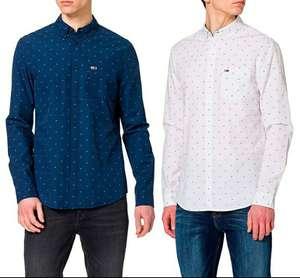 Camisa Tommy Jeans 100% algodón orgánico para hombre todas las tallas en dos colores