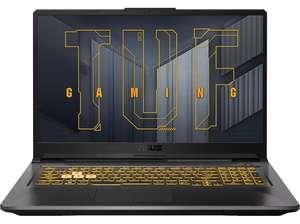 """Portátil gaming - Asus TUF FA706QM-HX001, 17.3"""" FHD, AMD Ryzen 7 5800H, 16 GB RAM, 1 TB SSD, RTX 3060, FreeDOS"""