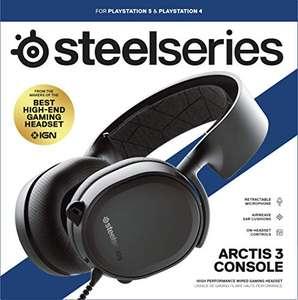Auriculares Steelseries Arctis 3 edición Consolas (PC,PS4/5, XBOX, SWITCH) por sólo 52,94€