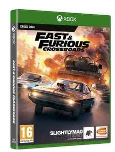 Juego Xbox One Fast & Furious Crossroads