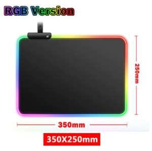 Alfombrilla LED RGB de 350 x 250 mm
