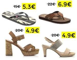 Más liquidación en calzado para hombre y mujer en Esdemarca