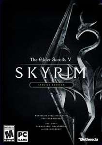 THE ELDER SCROLLS V SKYRIM SPECIAL EDITION PC (STEAM)