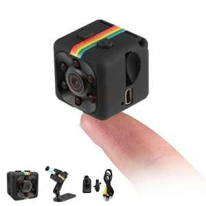 Mini cámara SQ11 FullHD 1080P con Sensor de visión nocturna, DVR, detector de movimiento, visión120°, fotos 8Mpx