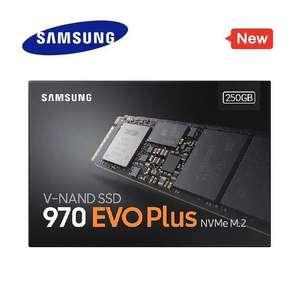 SSD NVMe Samsung 970 EVO PLUS 250GB desde España