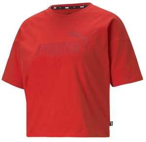 Camiseta mujer training Puma ESS Cropped algodón 100% sostenible por sólo 8,35€ (Tallas XS, S, M, L)