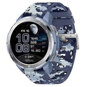 """HONOR GS Pro Reloj Inteligente Llamadas Bluetooth (Responder, Rechazar, Colgar una Llamada) Monitor SpO2, 1.39"""" AMOLED, Camuflaje Azul"""