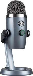 Micrófono USB Blue Yeti Nano para grabación y streaming (Gris)