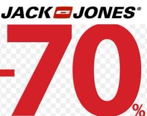 70% de dto. En Artículos JACK & JONES