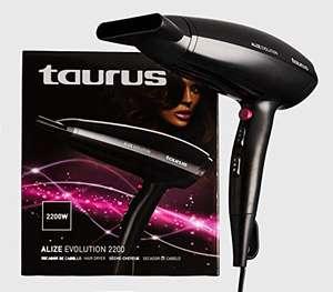Taurus Alize Evolution, Secador de pelo, 2200 W, Negro