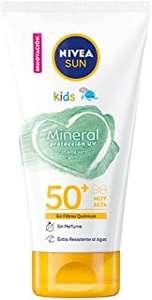 NIVEA SUN Crema Solar Niños Mineral FP 50 150 ml