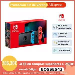 Nintendo switch desde España