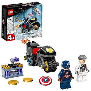 LEGO 76189 Marvel Vegadores Capitán América contra Hydra, Super Heroes Set con Moto de Juguete y Mini Figuras de Avengers