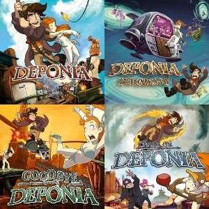 Saga Deponia, 1.99€ cada uno [Nintendo Switch,1.62€ en otras eShop]