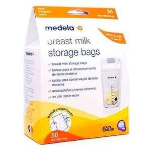 Medela pack de bolsas de almacenamiento de leche materna de 180 ml - 50 bolsas(compra recurrente)