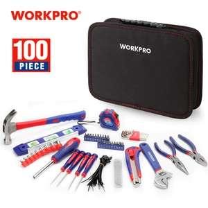 Kit de 100 Herramientas WorkPro - Desde España