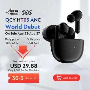 QCY-auriculares inalámbricos con Bluetooth