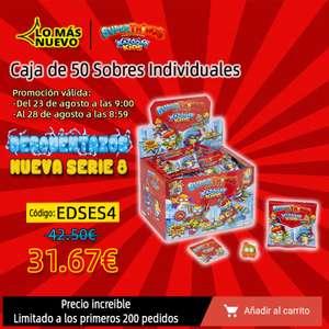 SuperThings - Caja de 50 Sobres