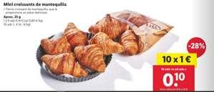 Mini croissants de mantequilla (10x1€)