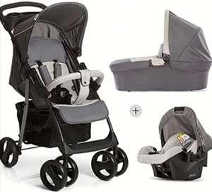 Hauck Shopper SLX Trio.Set 3 piezas: silla de paseo + capazo + silla de coche