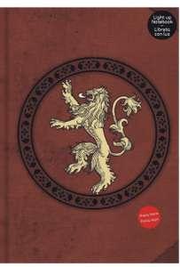 Libreta con luz con diseño de Lannister Game Of Thrones