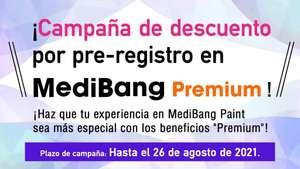 1 año de MediBang Premium (servicio online para ilustradores e historietistas)