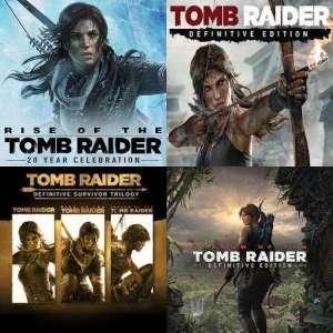 XBOX :: Tomb Raider Definitive Edition o 20º aniversario, Definitive Survivor Trilogy