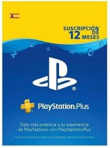 Tarjeta suscripción 365 días PlayStation Plus por 32,88 € (Alcampo Majadahonda)