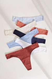 WOMEN'SECRET: Pack 7 tangas algodón multicolor
