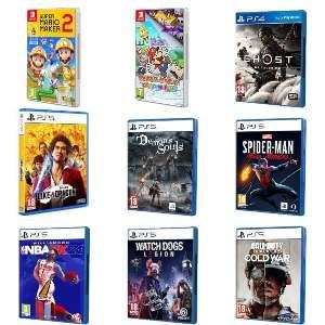 Super Mario Maker o Paper Mario 27€, Ghost of Tsushima 29€, PS5 Watch Dogs Legión 19€ y otros | AlCampo