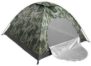 Tienda de campaña 4 personas camuflaje Jelex Outdoor Nature Easy Up (2 personas 24,24€ o 1 persona 19,19€)