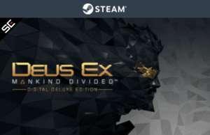 Deus Ex: Mankind Divided Digital Deluxe PC 5,33€ y Deus Ex: Human Revolution - Director's Cut 2,37€ (STEAM)