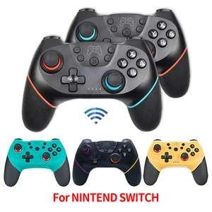 2 mandos Nintendo switch no oficiales inalámbricos