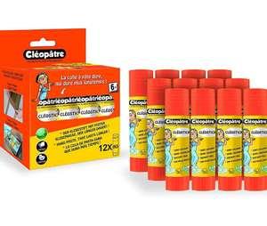CLEOPATRE - Caja de 12 barras de pegamento [0.49€ Und.]