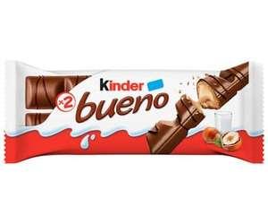 Kinder Bueno Chocolate con leche y Avellanas 43gr (Tenerife)