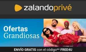Envío gratis en Zalando Prive con el código FREE4U