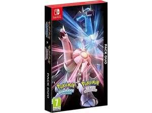 Pokémon Diamante Brillante + Pokémon Perla Reluciente + Funda móvil