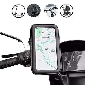 Funda de móvil Impermeable de BEISK, para Dispositivos de hasta 6,5 Pulgadas, con Pantalla táctil, para Biciclet