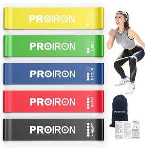 5 Bandas Elasticas de Fitness Musculacion con bolsa de transporte