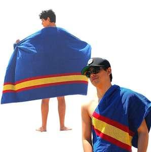 2 piezas. Toalla de Playa Grande + Toalla de Gym. 100% algodón. Bandera de España