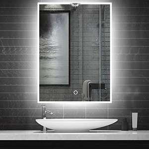 Espejo de baño LED – 48 x 60 cm