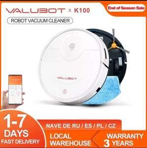 VALUBOT-Robot aspirador K100 , 3 en 1, programación por APP. Desde España