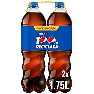 2 botellas de Pepsi 1,75L