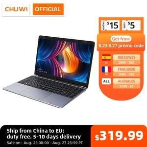 "CHUWI HeroBook Pro 14,1 ""FHD pantalla Intel Celeron N4020 Dual Core UHD gráficos 600 GPU 8GB RAM 256GB SSD Windows 10 Laptop"